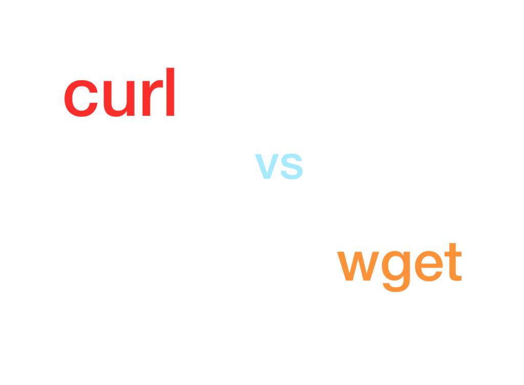 curl vs wget